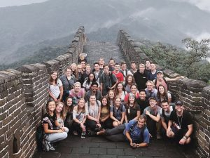 Team Visits Great Wall