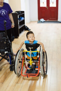 simeon in standup mobility aid