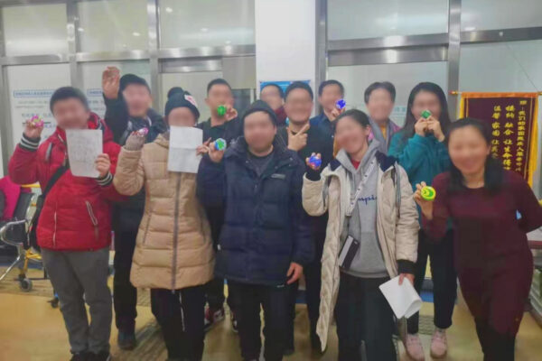 young adults who aged out of the orphanage finish life skills training course