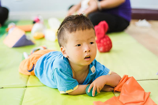 tummy time for toddler with hydrocephalus